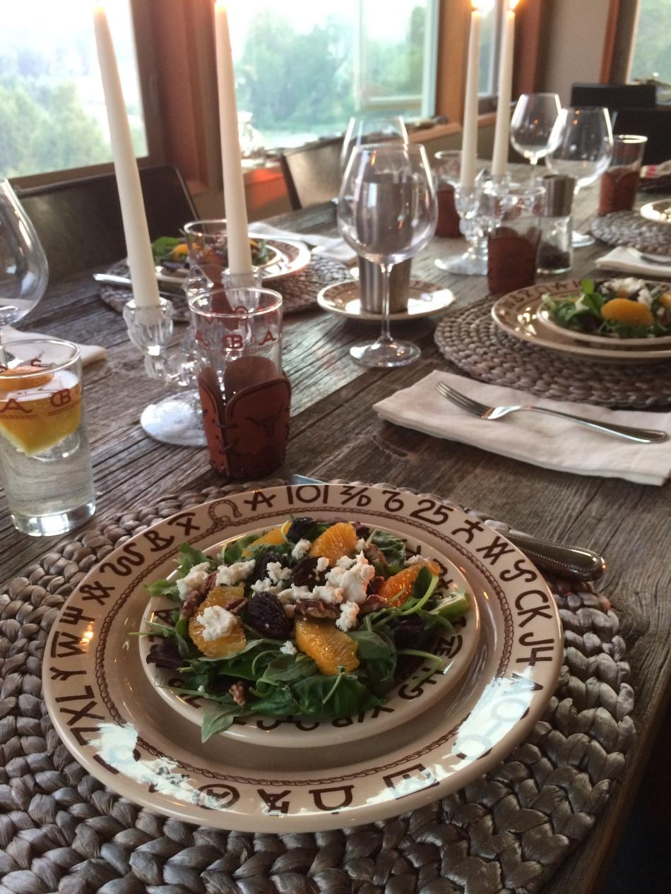 Orange Fig Salad
